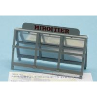 33C - Simca cargo miroitier St Gobain - Chevalet complet gris