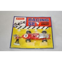 Racing Set F1 à friction rouge par Lucky toys Hon Kong