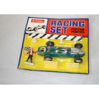 Racing Set F1 à friction verte par Lucky toys Hon Kong