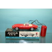 Jaguar type E cab rouge LB made in Hong Kong 7003