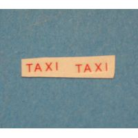 3/45A - Renault Colorale taxi TAXI