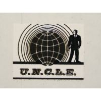 497 - The MAN From U.N.C.L.E sticker de capot