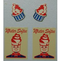 428 - Karrier Smith's ICE CREAM VAN Mister Softee