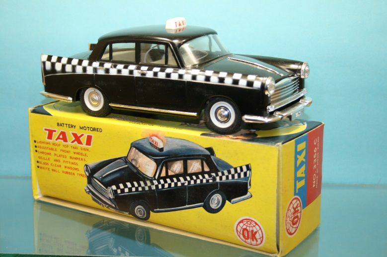 Taxi Morris Oxford OK Made in Hong kong